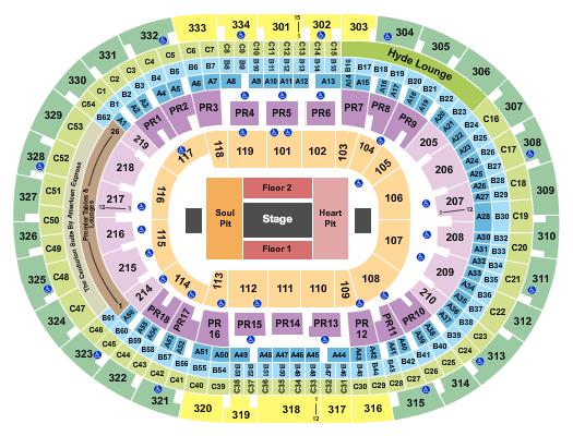 Staples Center Floor Plan