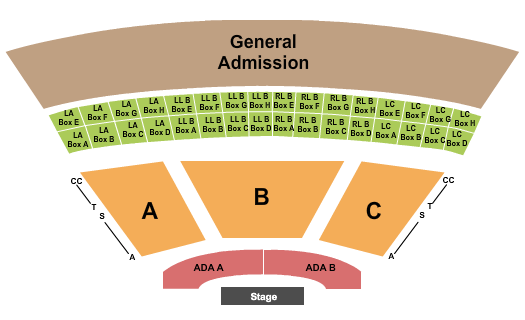 Starlight Bowl Seating Chart
