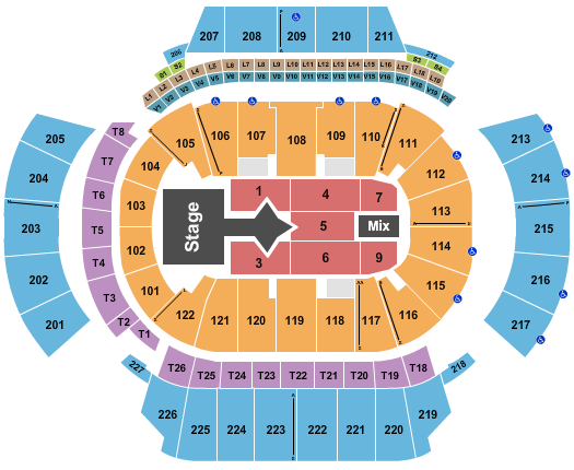 State Farm Arena - GA seating chart event tickets center