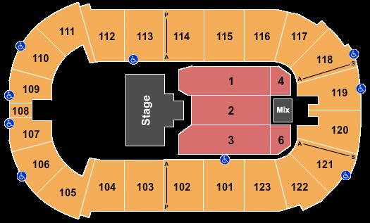Payne Arena Floor Plan