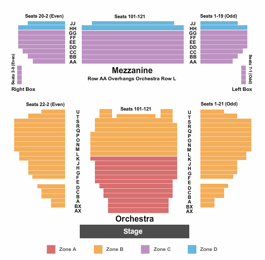 Stephen Sondheim Theatre seating chart event tickets center