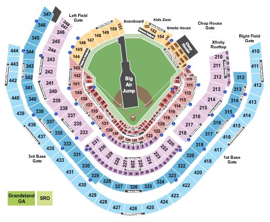 SunTrust Park Big Air seating chart - eventticketscenter.com
