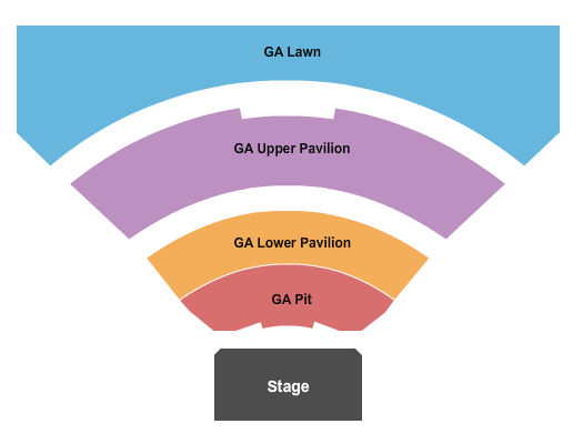 TCU Amphitheater At White River State Park seating chart event tickets center