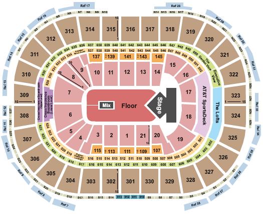 TD Garden seating chart event tickets center