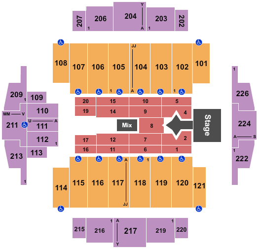 Tacoma Dome Justin Bieber 2021 seating chart - eventticketscenter.com