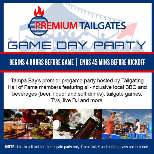 Premium Tailgate Lot - Tampa  Floor Plan