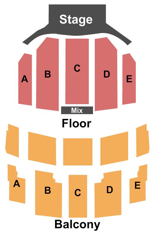 Texas Hall Seating Chart