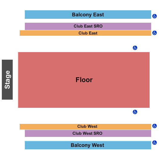 The Armory - Minneapolis seating chart event tickets center