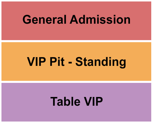 The Ballroom at Warehouse Live seating chart event tickets center