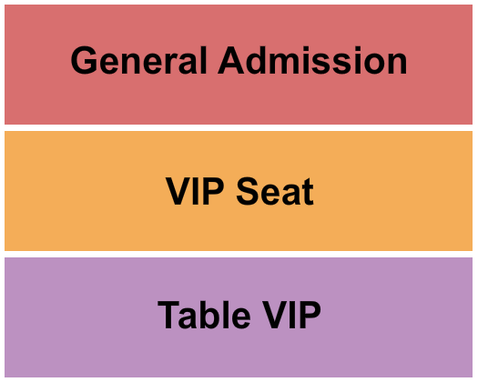 seating chart for The Ballroom at Warehouse Live The Rush Tribute - eventticketscenter.com