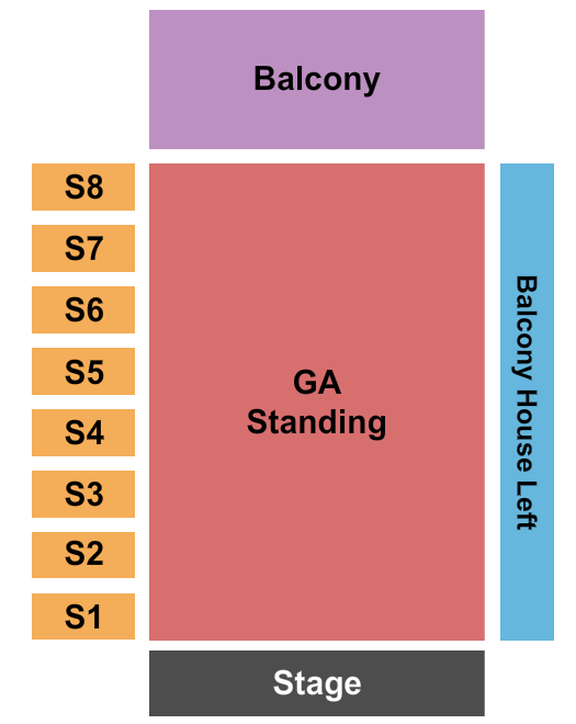 The Factory in Deep Ellum seating chart event tickets center