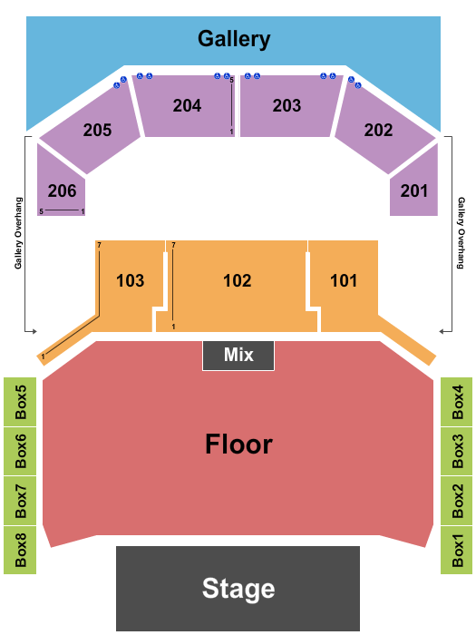 The Chelsea - The Cosmopolitan of Las Vegas seating chart event tickets center