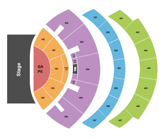 The Colosseum At Caesars Palace Floor Plan