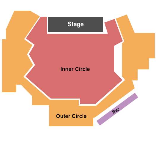 The Comedy Zone - Jacksonville Seating Chart