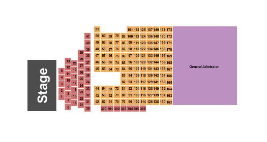 The Concert Green at Renaissance Seating Chart