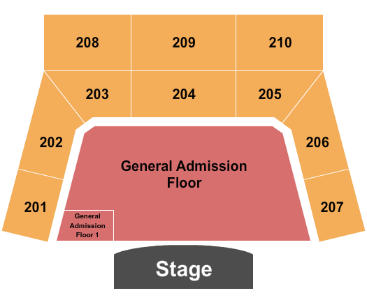 The Factory - Chesterfield seating chart event tickets center