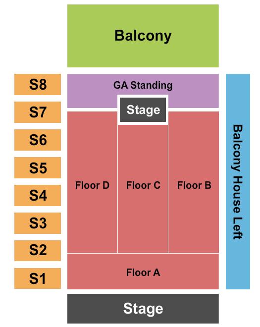The Factory in Deep Ellum Floor Plan