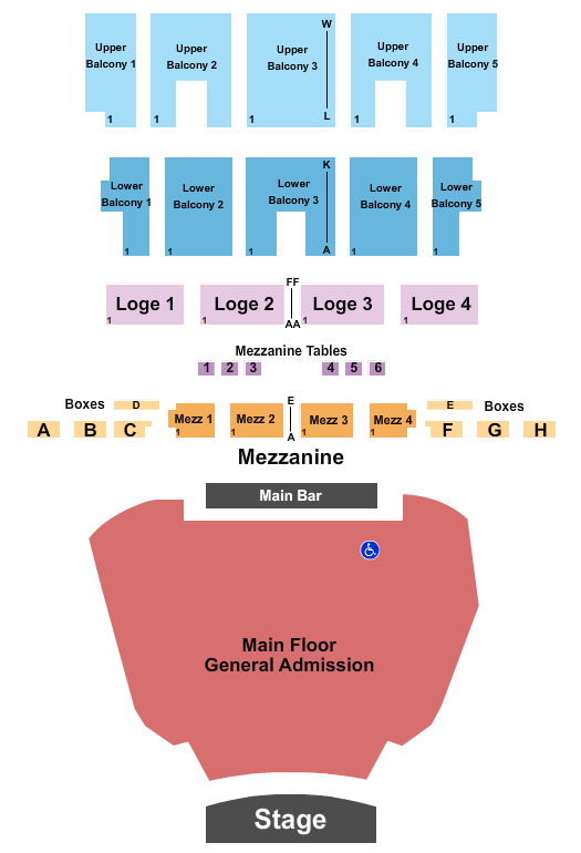 The Fillmore - Detroit seating chart event tickets center
