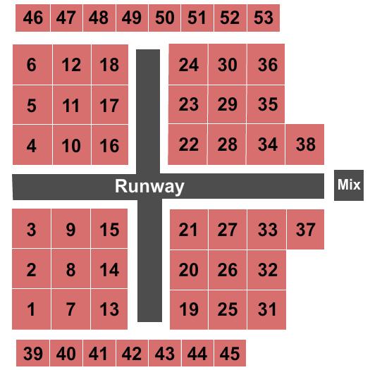 The Fillmore - New Orleans Drag Diva Brunch seating chart - eventticketscenter.com