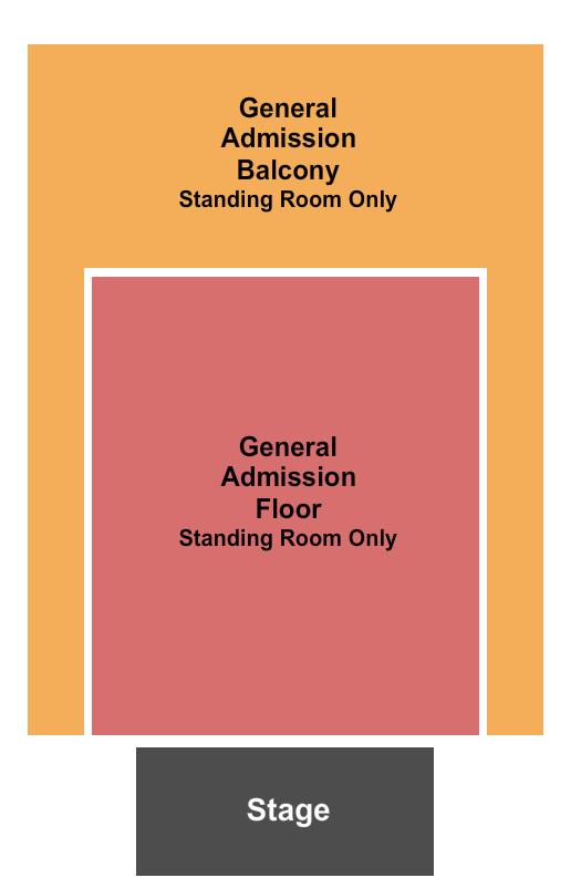 The Fillmore - Philadelphia General Admission seating chart - eventticketscenter.com