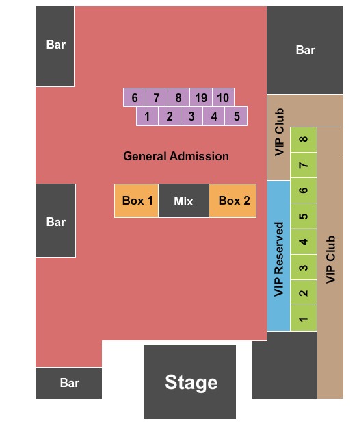 The Fillmore - Charlotte seating chart event tickets center