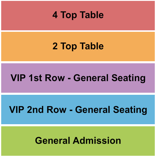 The Harbor Center Seating Chart