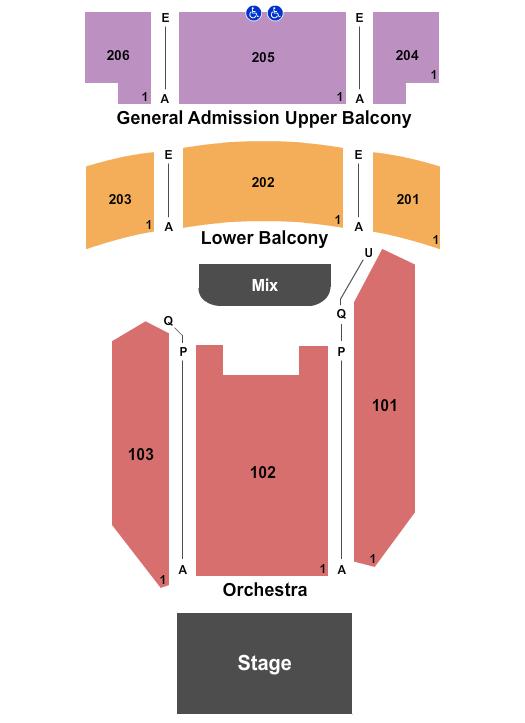 The Joy Theater Floor Plan