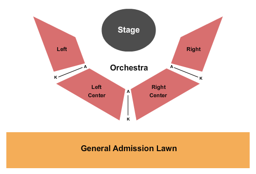 Coffee Butler Amphitheater Seating Chart