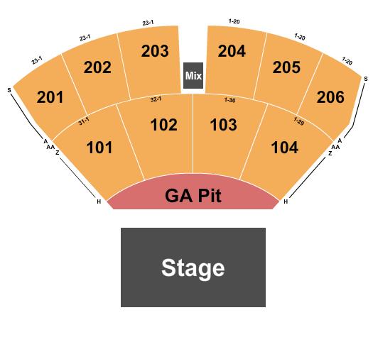 The Ledge Waite Park Amphitheater Seating Chart