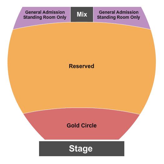 The Magnolia Performing Arts Center Floor Plan