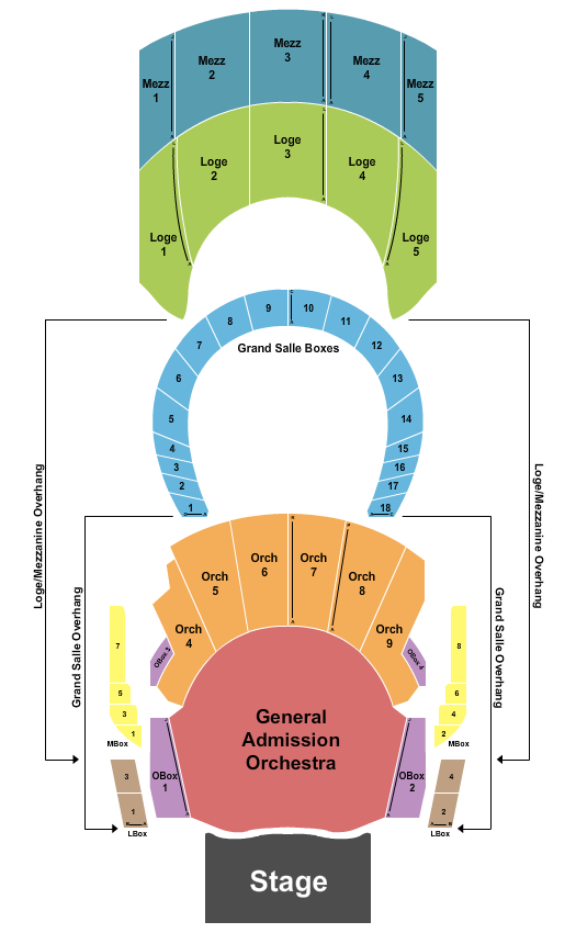 The Met - Philadelphia seating chart event tickets center