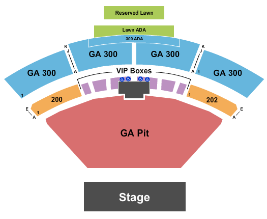 The Pavilion at Toyota Music Factory Floor Plan