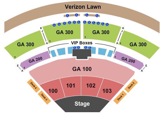 The Pavilion at Toyota Music Factory seating chart event tickets center