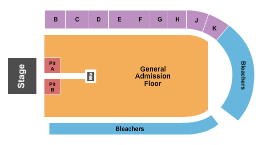 The Pit at Elder High School seating chart event tickets center