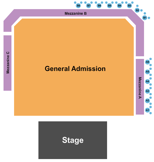 The Ritz - Raleigh seating chart event tickets center