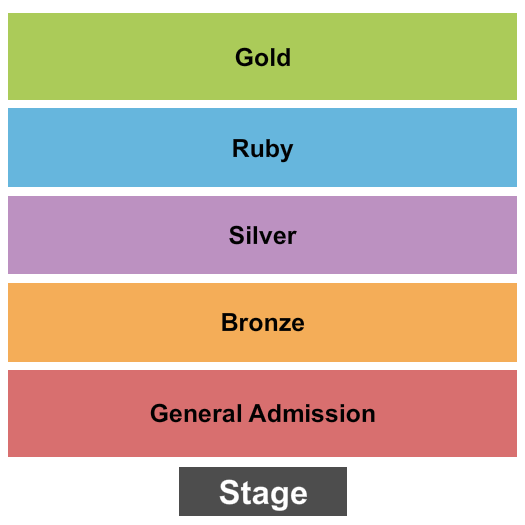 The Royal Grove seating chart event tickets center