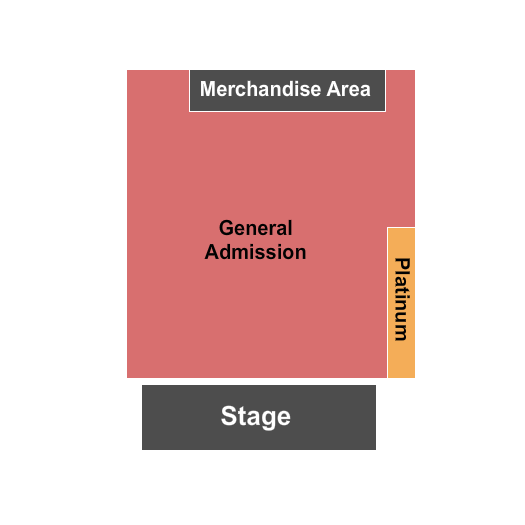 The Shelter at Saint Andrews Hall seating chart event tickets center