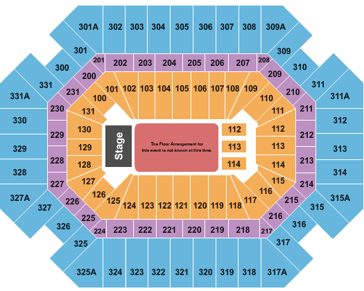 Thompson Boling Arena seating chart event tickets center