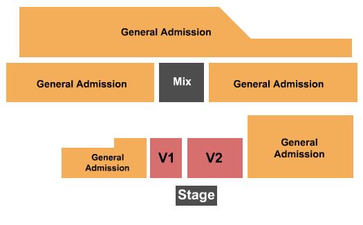 Tioga Downs Seating Chart