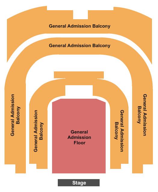 Township Auditorium Seating Chart