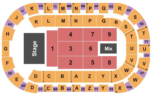 Toyota Center - Kennewick seating chart event tickets center