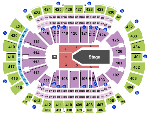 Toyota Center - TX The Weeknd seating chart - eventticketscenter.com