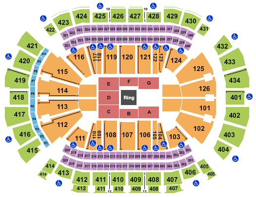 Toyota Center - TX seating chart event tickets center