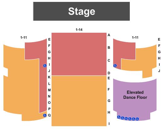 Truman Lake Opry Seating Chart