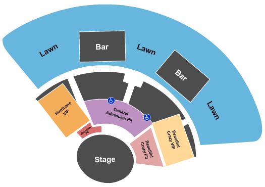 Truman Waterfront Park Amphitheater Floor Plan