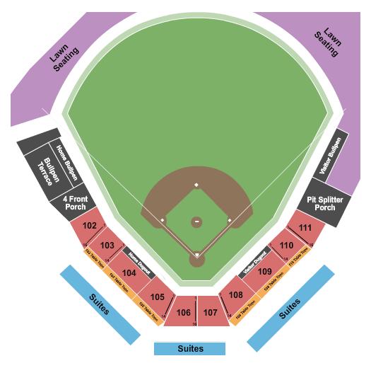 Turtle Creek Stadium Floor Plan