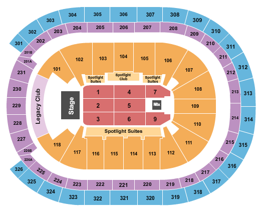 Trans-Siberian Orchestra UBS Arena Seating Chart