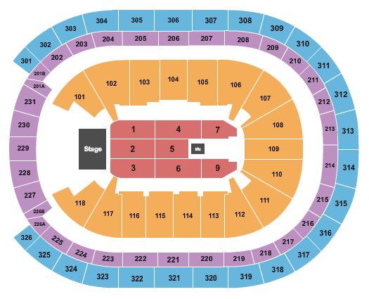 UBS Arena seating chart event tickets center