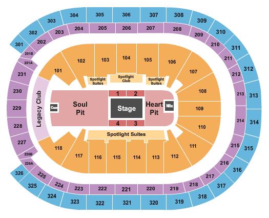 UBS Arena Floor Plan