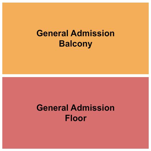 UNO Lakefront Arena Floor Plan